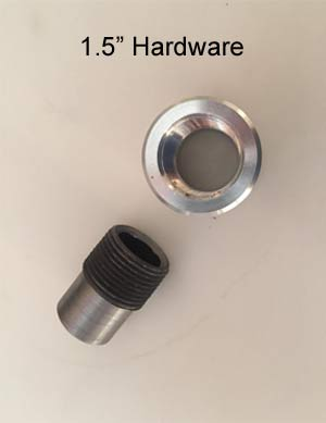 "1.5"" Hardware"