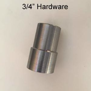 "3/4"" Hardware Only"